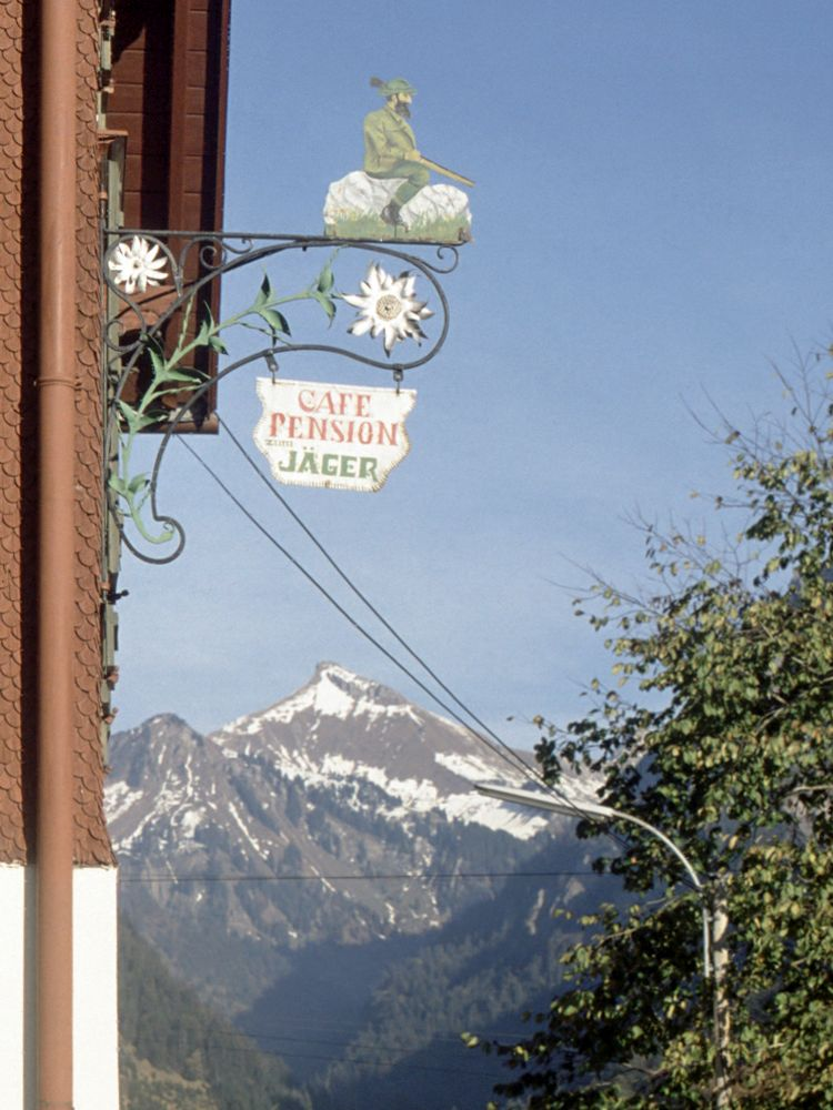Cafe Pension Jäger in Buchboden, Rothorn