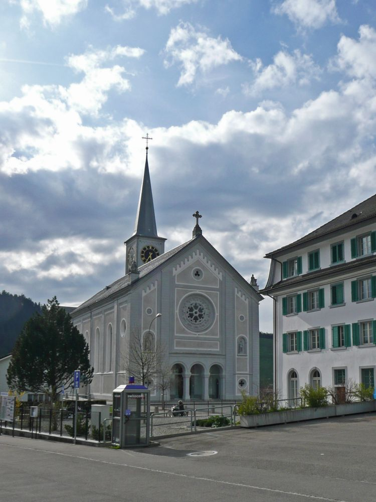 Kirche in Rothenthurm