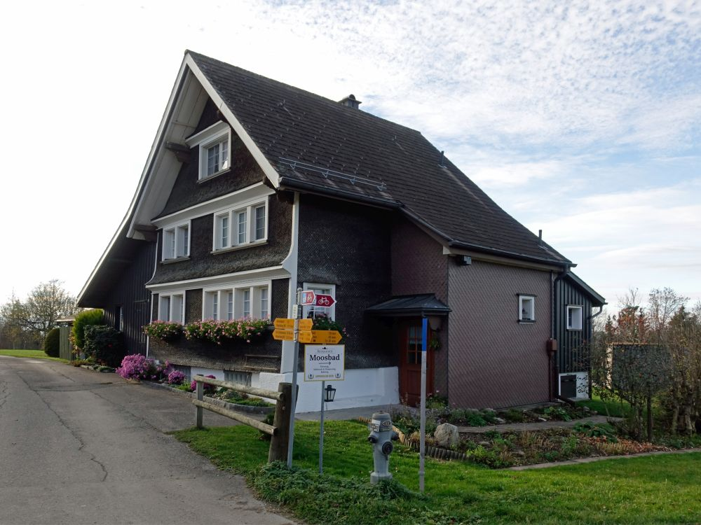 Haus in Moosruer